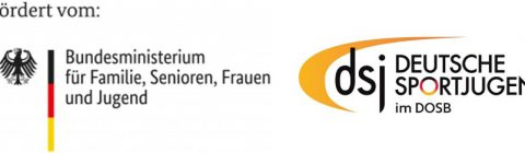 BMFSFJ und dsj Logo
