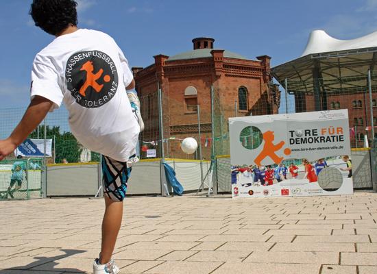 Straßenfußball Projektbild